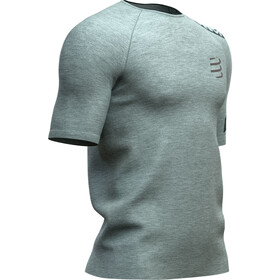 Compressport Training Kurzarm T-Shirt Herren grey